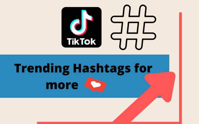 Using trending hashtag get more likes